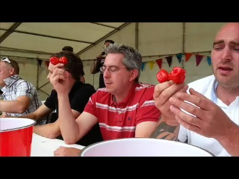 The Great Dorset Chilli Eating Contest   Sunday 4 August 2013