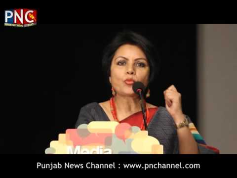 Alka Saxena | Media Conclave 2016 Part 1 | Punjab News Channel | Official Video