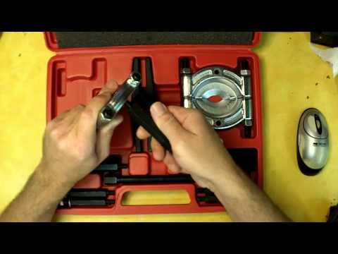 Harbor Freight Bearing Separator and Puller Set Review