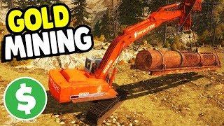BIGGEST MINING MACHINE BUILT   Gold Rush: The Game Gameplay