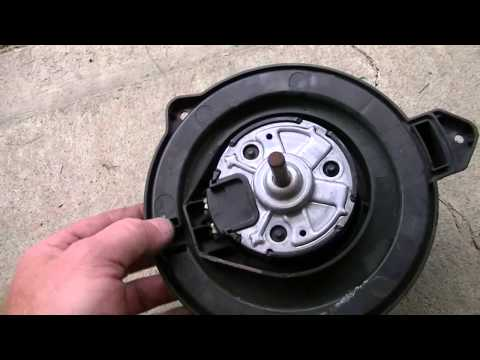 2008 Dodge Ram blower fan replacement