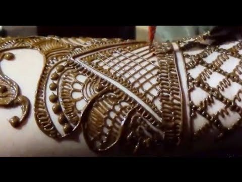 Peacock Henna Bridal Mehendi Design By MehndiArtistica/simple Mehandi Art