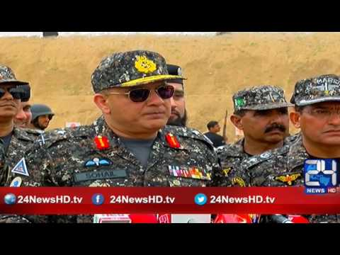 24 Report:  ASF force training in karachi