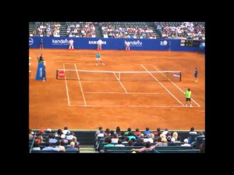 Rafael Nadal vs David Ferrer en Lima: 7-5 6-4