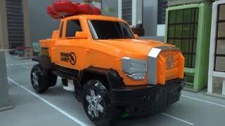 헬로카봇 스피너블 자동차 로봇 변신 장난감 Hello Carbot Spinnable Car Robot Transformation Toys