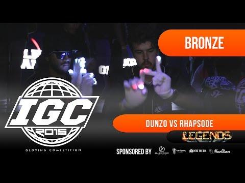 [IGC 2015] Dunzo vs Rhapsode - Legends Bronze Match [EmazingLights.com]