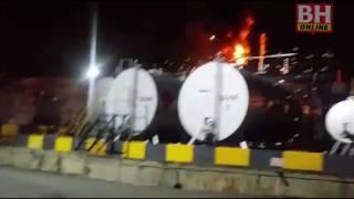 Loji penapis minyak di Port Dickson terbakar
