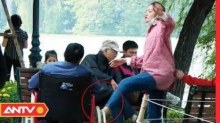 Ô sin túm tóc, lột áo người già khuyết tật khiến người dân dậy sóng   KỸ NĂNG SỐNG   ANTV