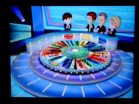 Wheel of Fortune Wii Run Game 2 Part 1
