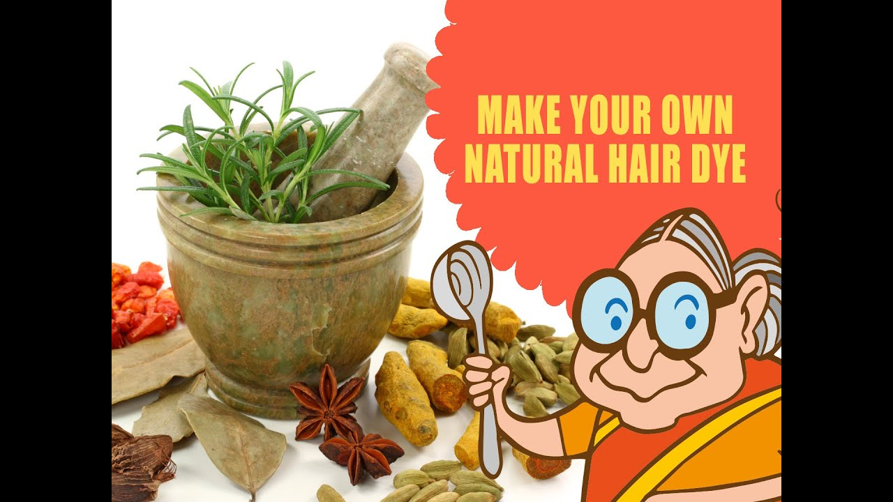 How To Dye Your Hair At Home With Natural Ingredients