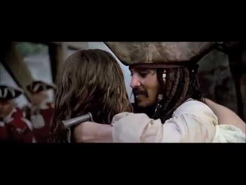 Pirates Of The Caribbean: The Curse Of The Black Pearl (2003) Scene: Jack's Escape