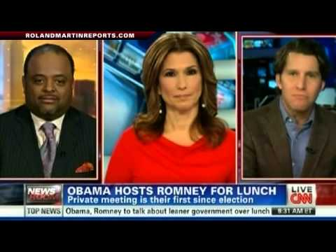 President Obama Hosts Mitt Romney For Lunch