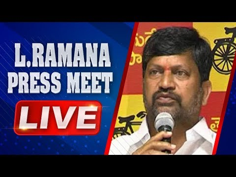 T-TDP President L. Ramana Press Meet LIVE | ABN LIVE