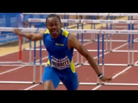 Aries Merritt wins 110m hurdles in Monaco - Universal Sports