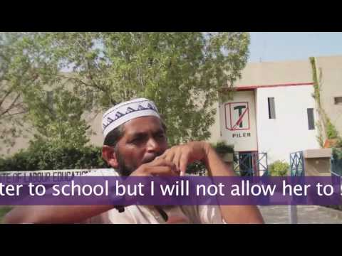 Vox Pop - Men of Karachi - Should girls be educated?