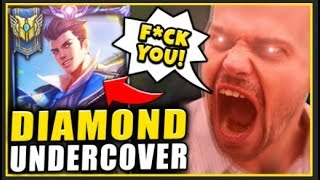 I HIRED A TOXIC COACH AND PRETENDED TO BE AN IRON PLAYER ** THE COACH FREAKS OUT!!