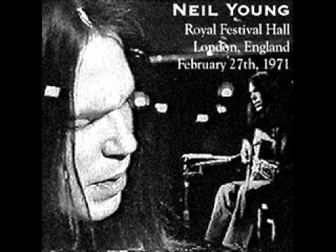 Neil Young Only Love Can Break Your Heart Royal Hall 1971
