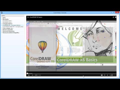 Curso Introducción a CorelDraw X6 - 02 La Ventana de Bienvenida