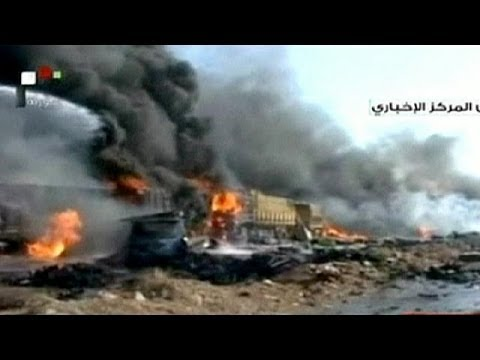 Syria truck-bomb kills at least 30 in central city of Hama