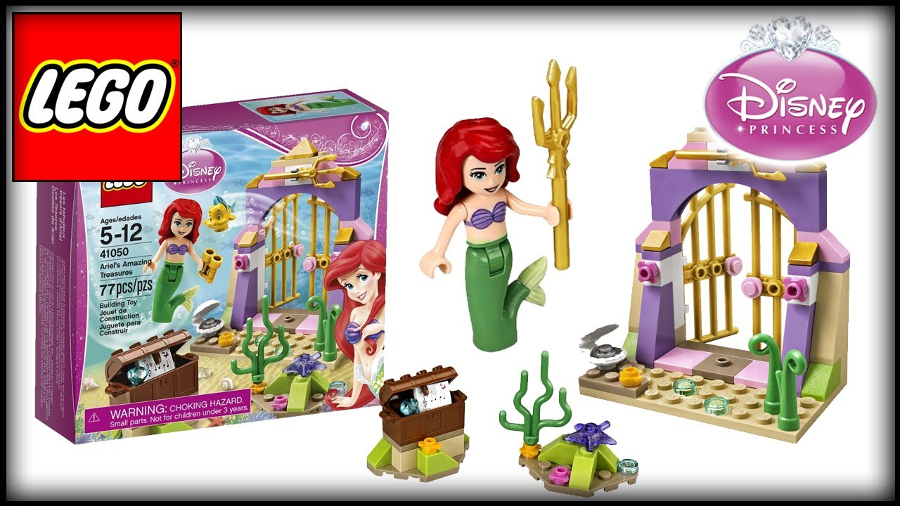 Lego Toys For Girls : Lego disney princess ariel s amazing treasures review
