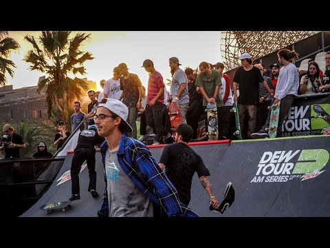 DewTour AM Series Best Trick (Justin Sommer, Carlos Neira, Sean Malto)