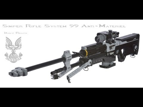 LEGO Halo: Reach Sniper Rifle Life Size
