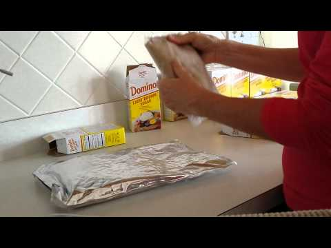 Long Term Food Storage Idea for Sugar for Preppers :) Ziplock Mylar bags :)