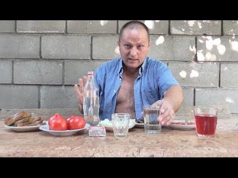 Пью ядрЁный САМОГОН под простятский ЗАКУСОН....