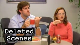 The Office - Pam's glasses (Deleted Scenes)
