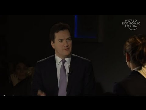Davos 2013 - An Insight, An Idea with George Osborne