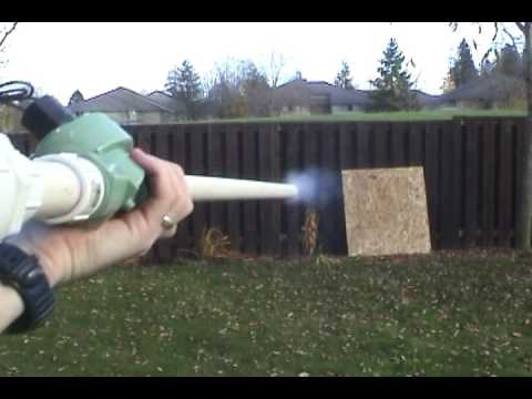 how to make pvc potato cannon