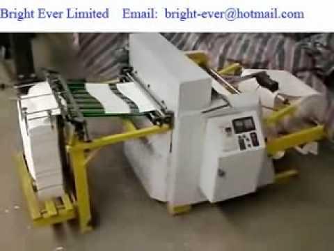 Automatic Paper Die Cutting Machine Youtube