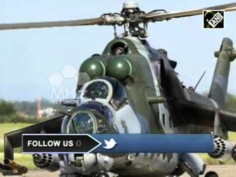 India to deliver military helicopter to Afghanistan to fight terrorism (20 Nov, 2015)