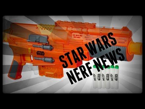 NERF NEWS: NEW STAR WARS NERF GUNS LEAKED!!!