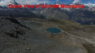 Drone View of Zermatt Mountains (ALPS) vlog 19