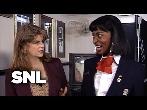Zoraida and Kirstie Alley - Saturday Night Live