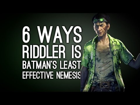 6 Ways the Riddler is Batman's Least Effective Nemesis