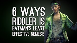 Download Lagu 6 Ways the Riddler is Batman's Least Effective Nemesis Gratis STAFABAND