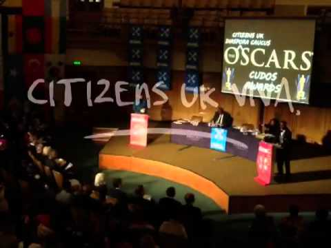 CITIZENS UK VIVA! @ DIASPORA PEOPLE'S ASSEMBLY - LONDON 28.11.12