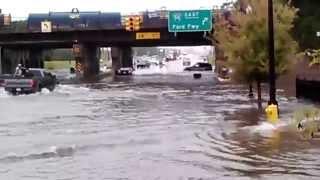 Detroit Flood 2014 - Crossing of DEATH!
