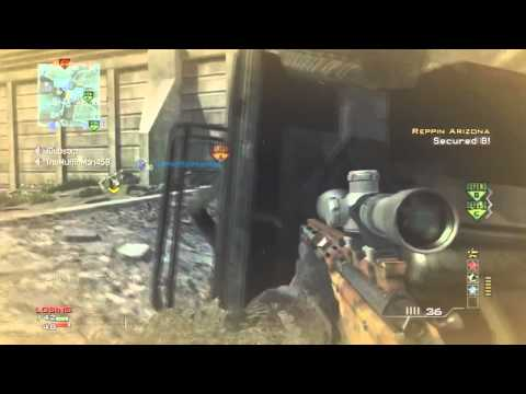 MW3: Double MSR Sniping MOAB :: My Opinion On Sniping!