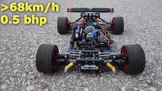 0.5 Horse Power LEGO RC CAR || MORE THAN 68km/h (42mph) RS3.2