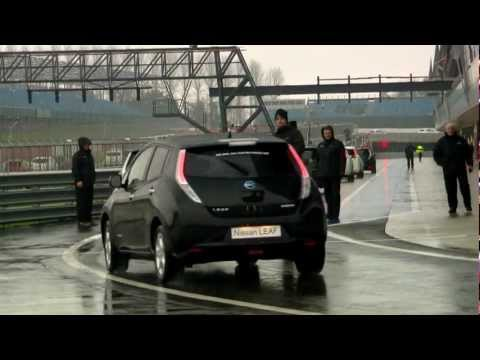 Nissan LEAF World Record at Silverstone