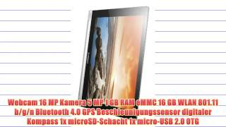 Lenovo 59388167 IdeaPad Yoga Tablet (10 Zoll HD) Tablet (ARM MTK 8389 1GB RAM 16GB eMMC Android
