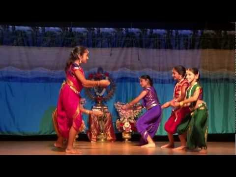 Poorvi Dinesh 11 Years Dance - Indian Semi-classical - Shiva Song video