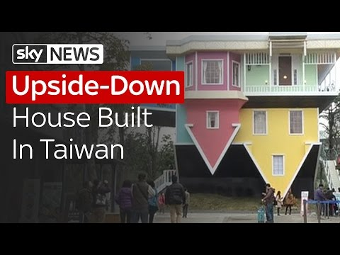 Upside-Down House Built In Taiwan