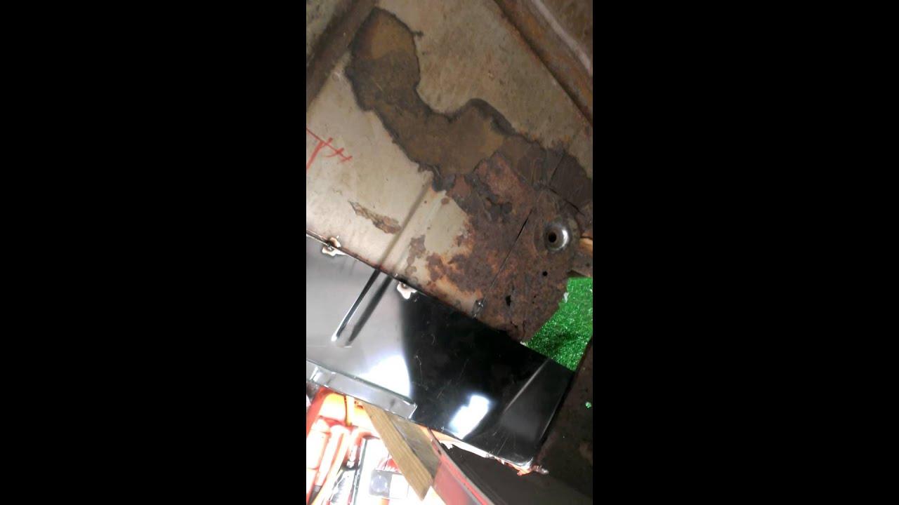 65 C10 Floor And Rocker Panel Rust Repair Part 1 Youtube