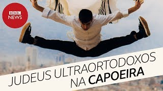Judeus ultraortodoxos jogam capoeira em Israel