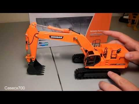 1:50 Scale Doosan DX700LC Review