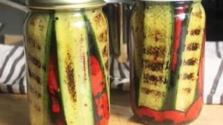 Pickled Grilled Pickles - Foodwishes